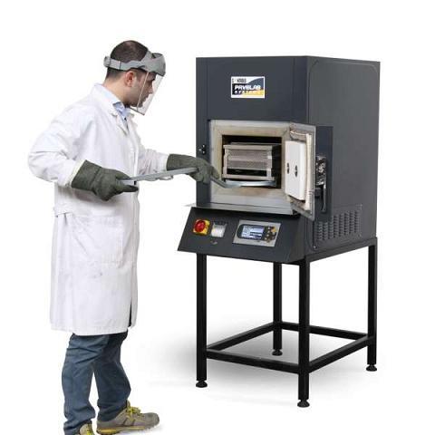 دستگاه تعیین مقدار قیر مخلوط آسفالتی با روش سوزاندن