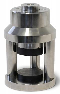 "Compression device to test 50mm (2"") cubes to ASTM C109. High stiffness model"