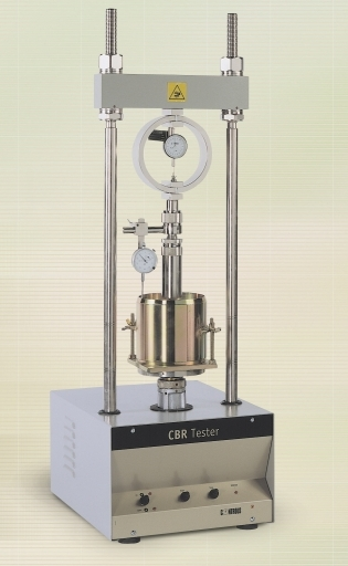 دانلود تصاویر ا آزمایش ظرفیت باربری کالیفرنیا ( سی بی آر )و مارشال CBR-Marshal